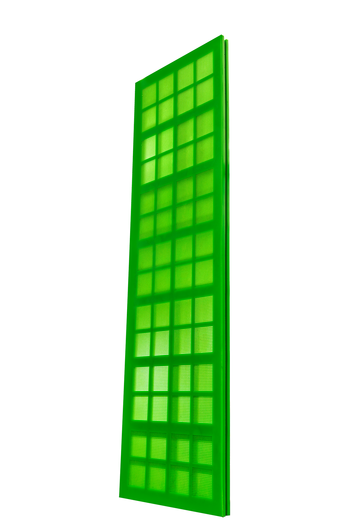 Resistant polyurethane sieves with highest open screen area! - 2